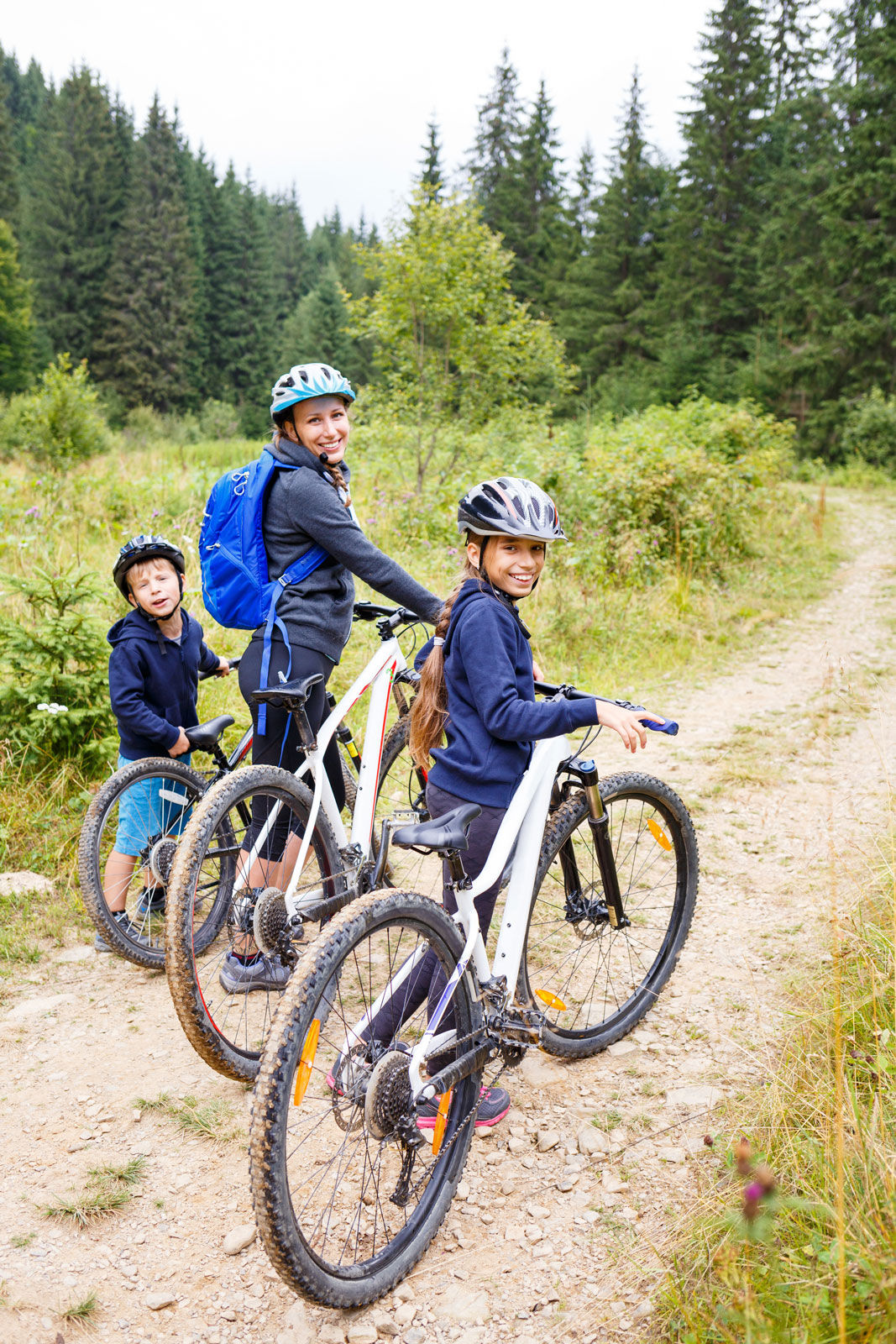 Explore the BC wild on wheels with over 50 km of biking trails.