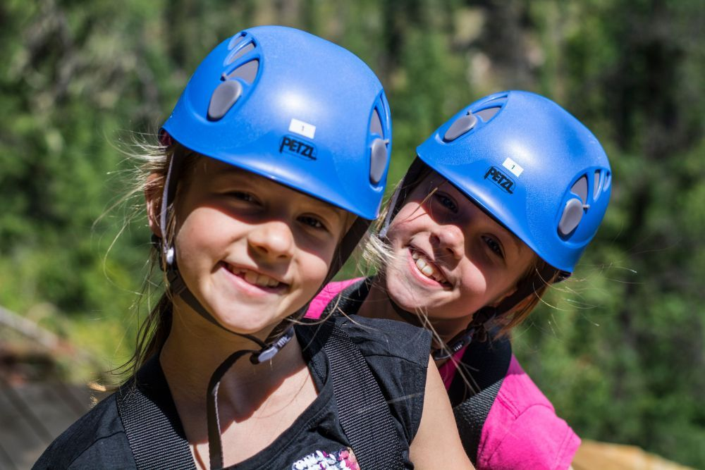 "Let your kids experience ziplining, one of the most fun things to do in British Columbia. Photo Credit: <a href=""http://www.nelsonkootenaylake.com/"">Nelson Kootenay Lake Tourism</a>"