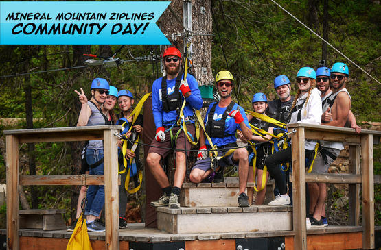 Mineral Mountain Ziplines Hosts 2nd Annual Community Day May 31