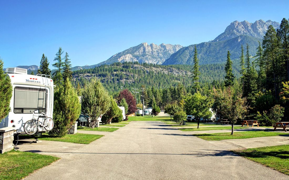 RV Resort located at Fairmont Hot Springs
