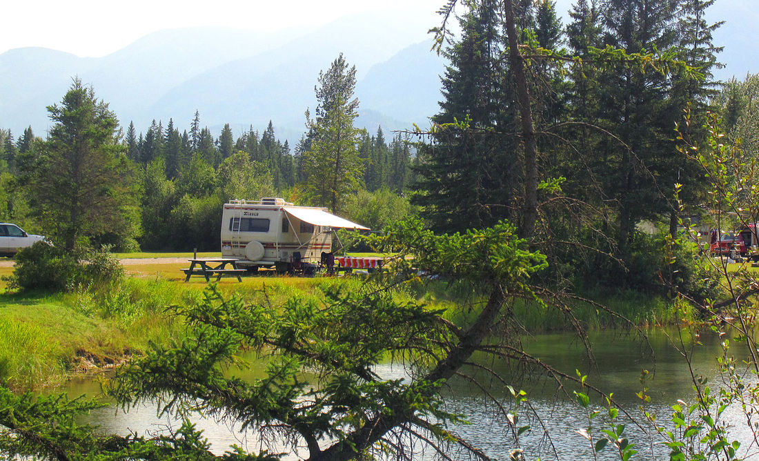 Spruce Grove Campground located at Fairmont Hot Springs