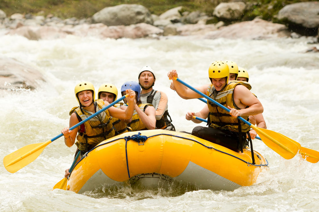 Whitewater rafting adventure!
