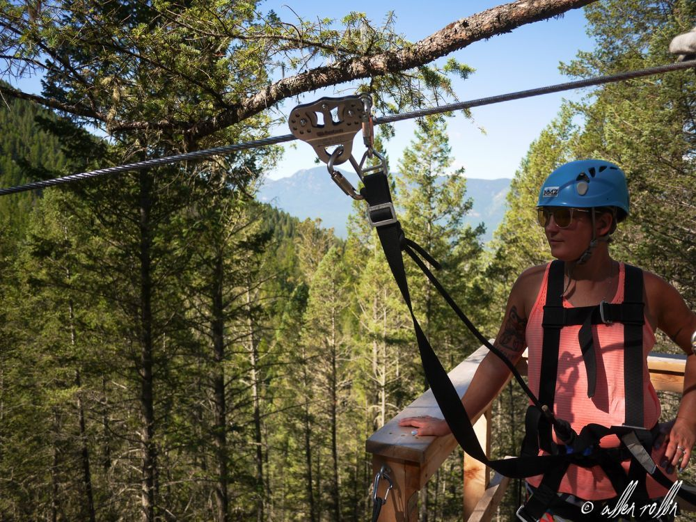 We commonly get asked about equipment and course safety at our Columbia Valley zipline company.