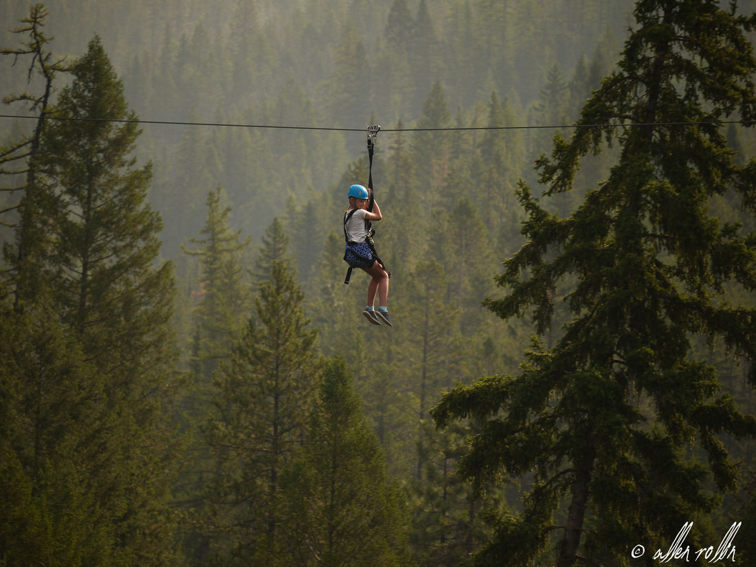 Experience Fairmont Hot Spring's only zipline adventure!