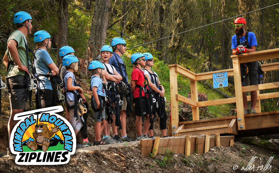 "With success at their sister zipline, <a href=""http://www.zipkokanee.com/"">Kokanee Mountain Ziplines</a>, Mineral Mountain is hosting it's own Community Day fundraiser"