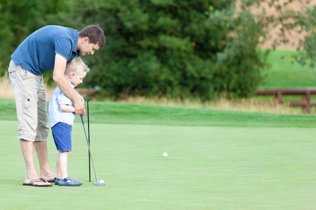 There are golfing opportunities for the whole family at Fairmont Hot Spring, BC.
