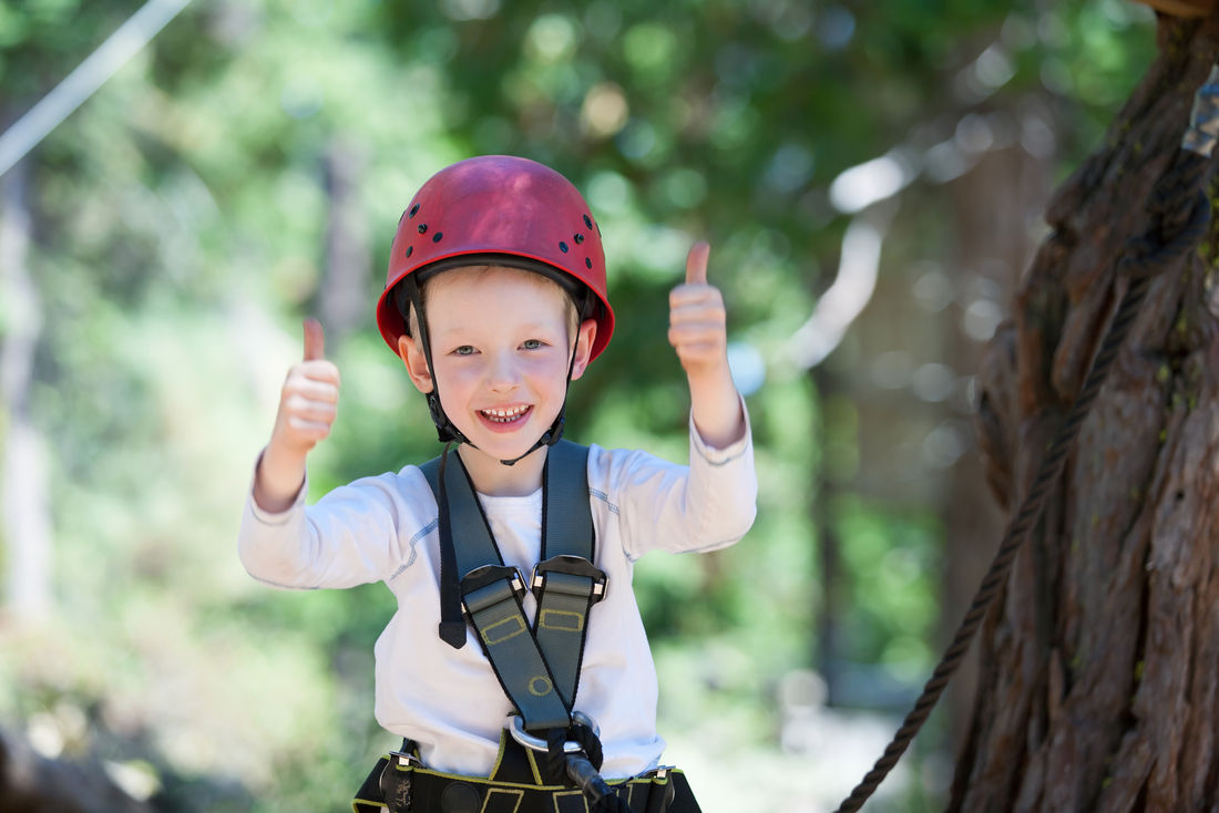 Hitting up the zip lines is just one of many family-friendly things to do in BC with kids this summer.