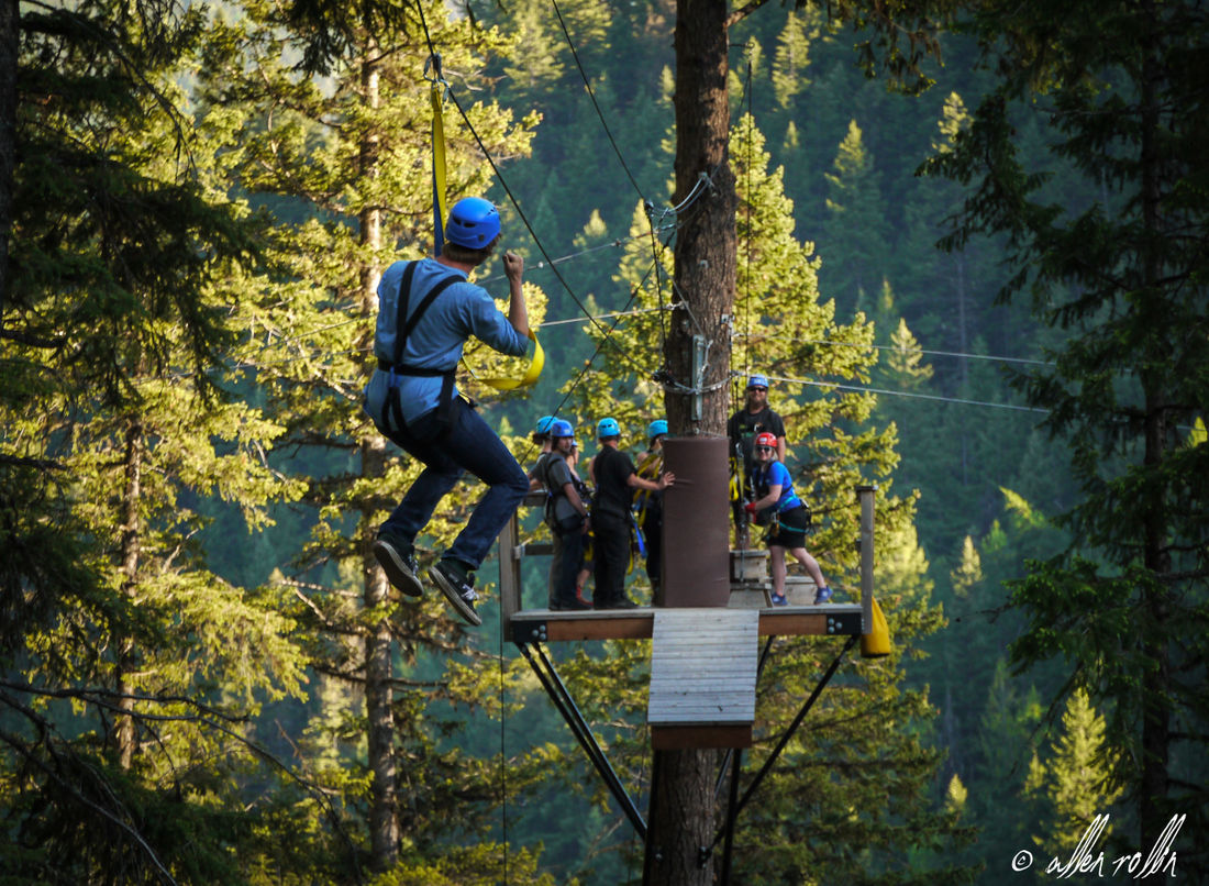 Start your adventure tour by ziplining at the soon-to-open Mineral Mountain Ziplines at Fairmont Hot Springs Resort.