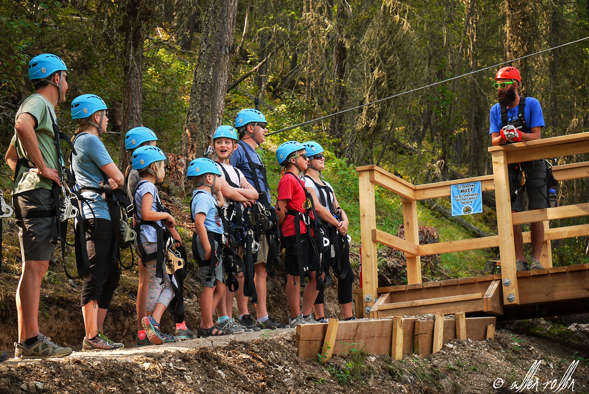 Large Groups Mineral Mountain Ziplines